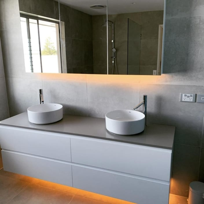 Bathroom Lighting Electrical Services Contractors South Coast NSW - Varley Electric