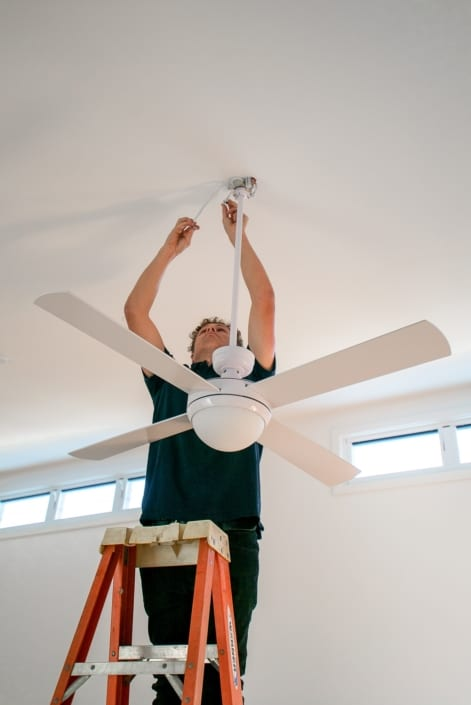 Fan Installation Electrical Services Contractors South Coast NSW - Varley Electric