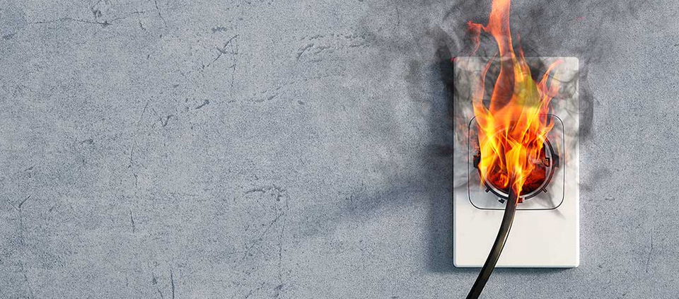 Electrical Faulty Wiring Cause Fire